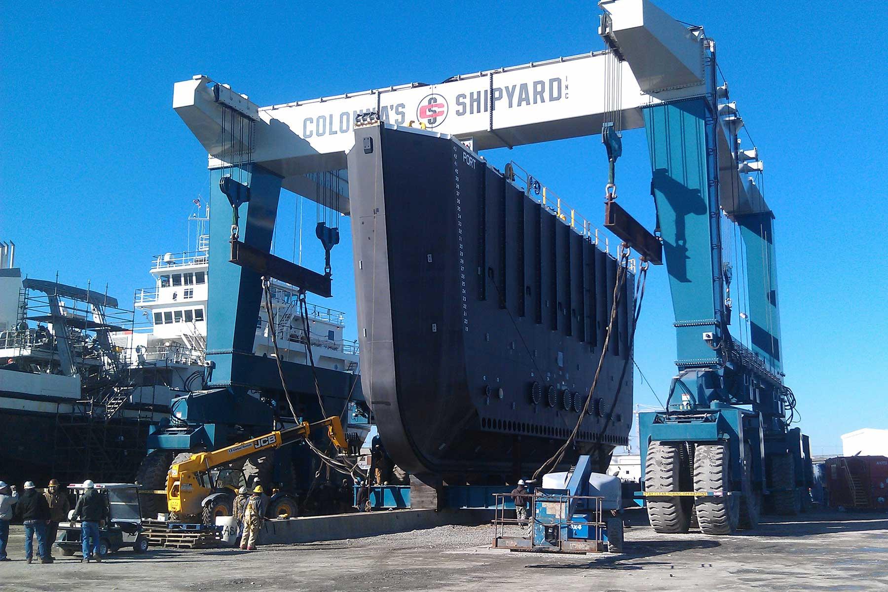 Norfolk Naval Shipyard Caisson #3