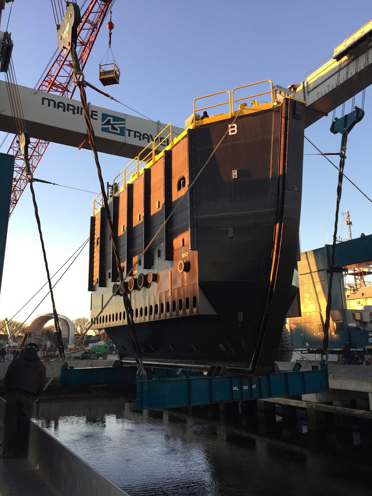 Charleston Naval Shipyard Caisson #1