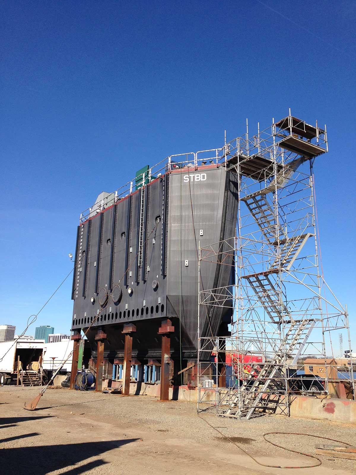 Norfolk Naval Shipyard Caisson #1