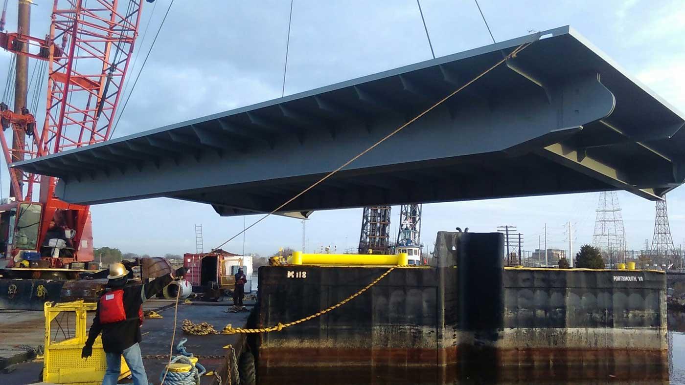 USNS Puller Platforms